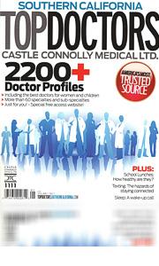 Top Doctors of plastic surgeons in the magazine
